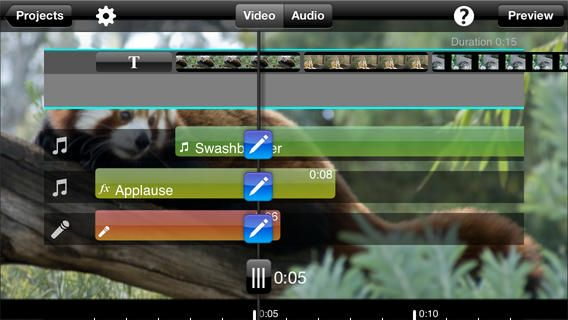 Splice video editor for HD photos and videos. Add music
