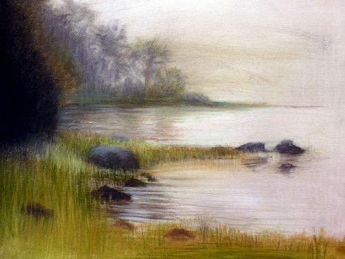 Paysages Ambiance Atmosphere Au Pastel Sec Pastel Art Landscape