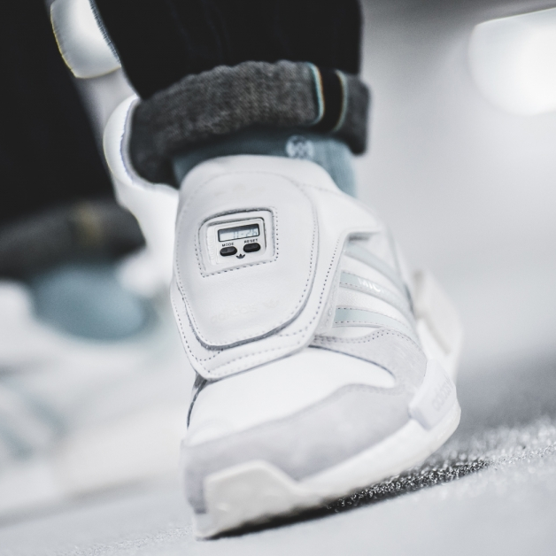 save off 14bda 1e54c adidas Micropacer x R1 Never Made - Triple White   43einhalb Sneaker Store