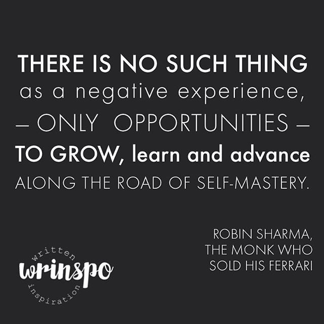 Wrinspo Quote Robin Sharma The Monk Who Sold His Ferrari With