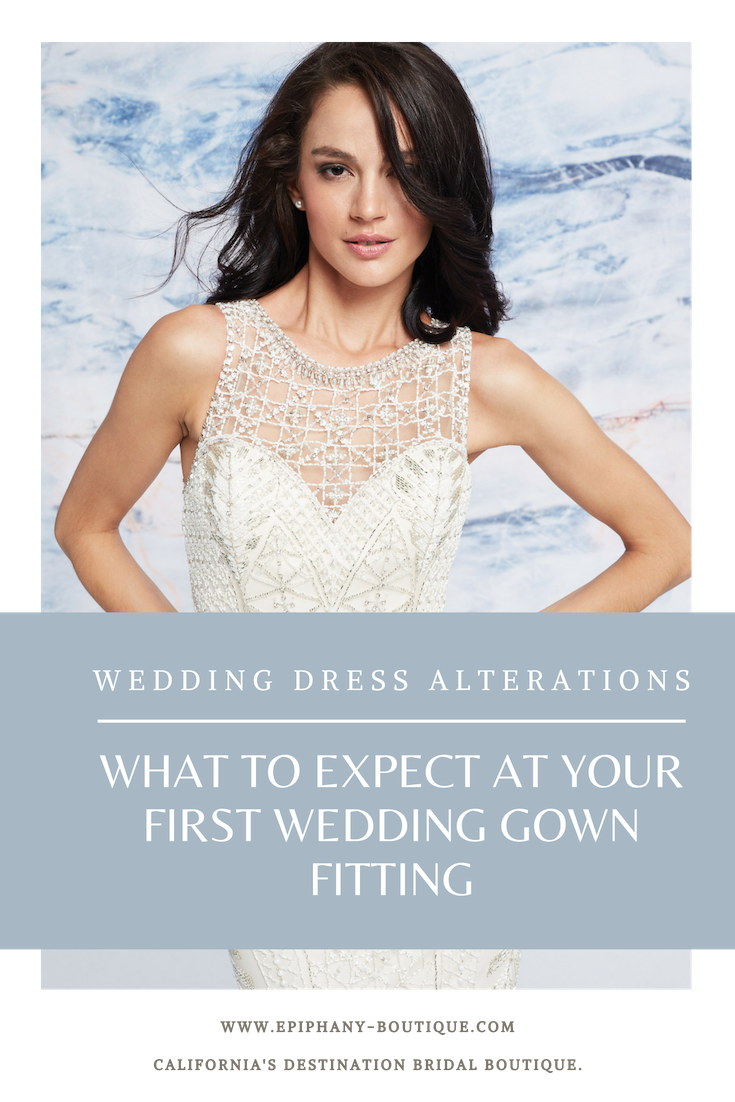 Your First Bridal Gown Fitting Are You Ready Part 1 Of A 4 Part Alterations Series Epiphany Gown Alterations Bridal Gown Fitting Wedding Gown Alterations