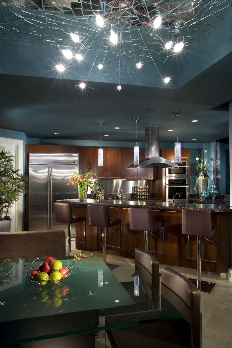 ♂ Masculine contemporary kitchen interior design - The ...