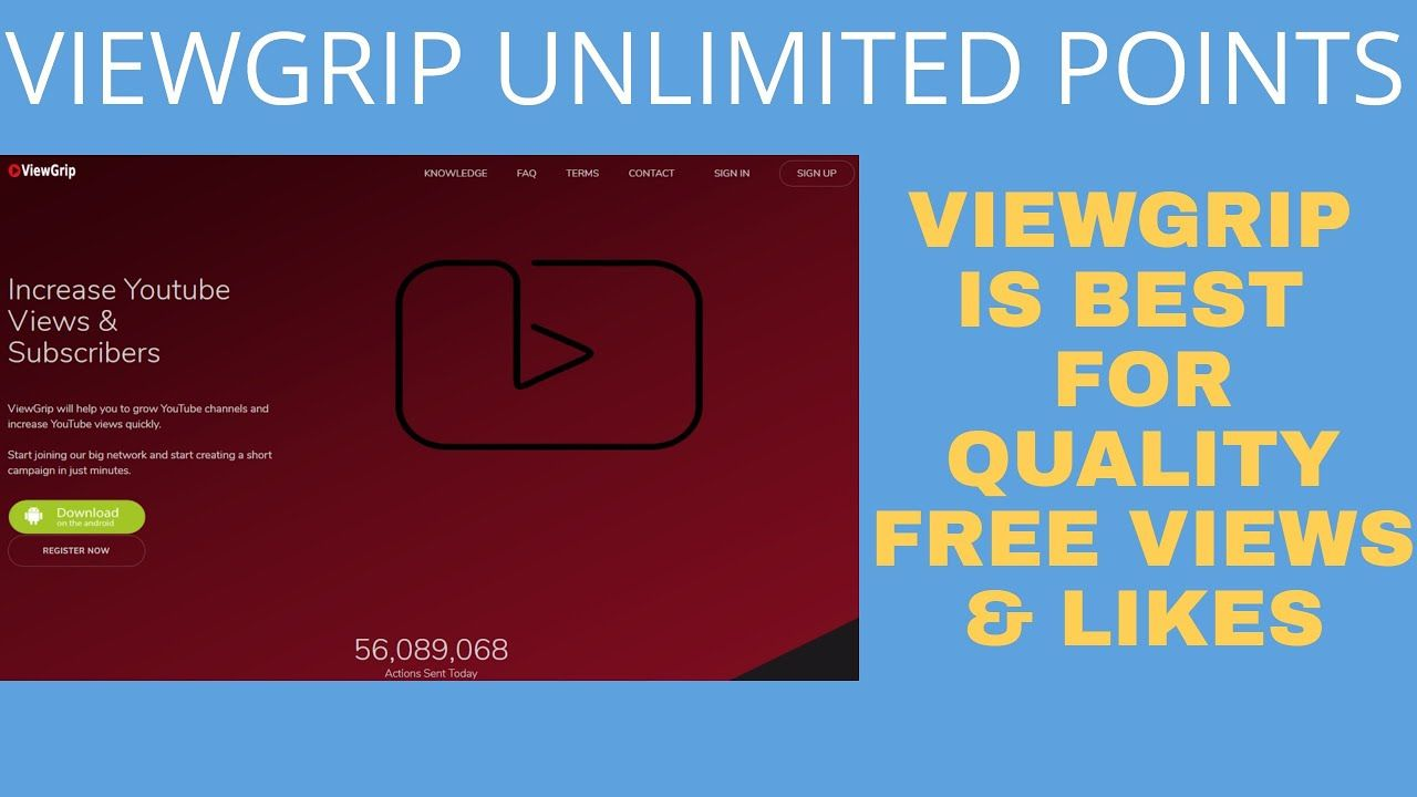 Viewgrip Site Review Learn How To Increase Views From Viewgrip Incre Learning Youtube Views Social Media