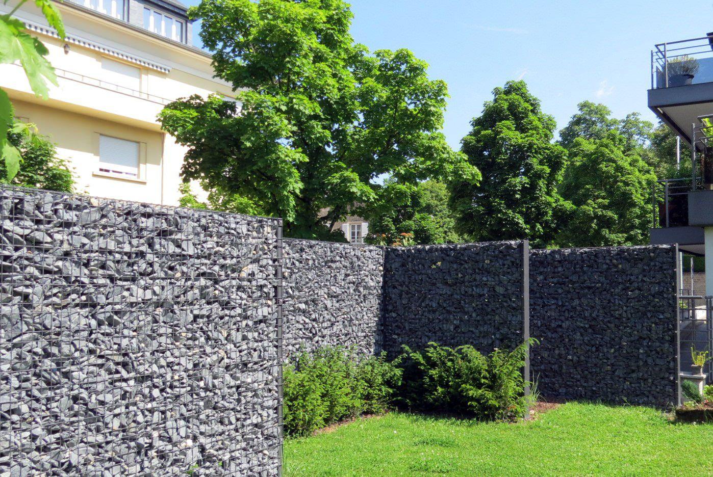 gabion cl ture palissade jardin et for t luxembourg pedra pinterest. Black Bedroom Furniture Sets. Home Design Ideas
