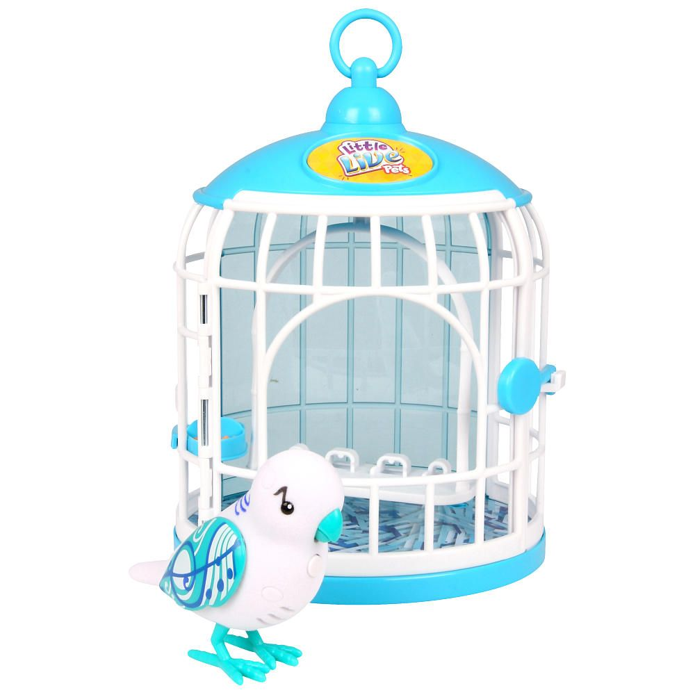 Little Live Pets Bird Cage White Little Live Pets Pet Bird Cage Pet Bird