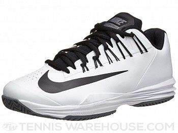 sports shoes 41746 a537a ... Nike Lunar Ballistec 1.5 WhiteBlack Mens Shoe Tennis Warehouse ...