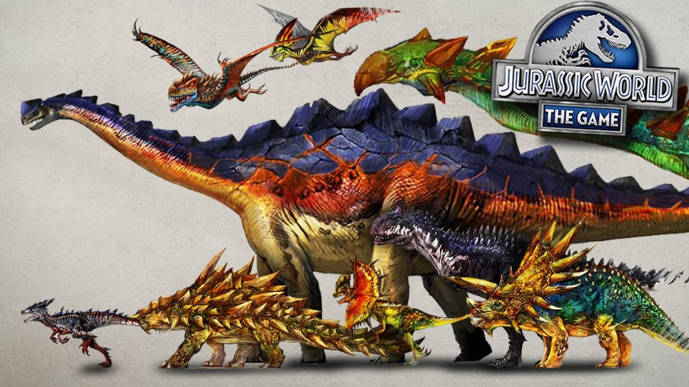 jurassic world the game concept art  google search