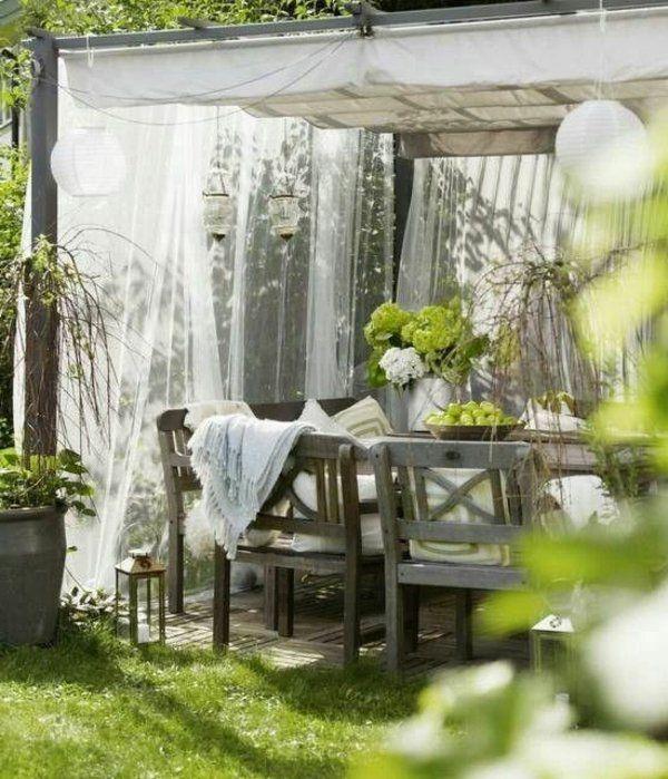 Holz Glas Pergola Markise Überdachte Terrasse Modern | Pergola ... Ueberdachte Holz Veranda Deko Ideen