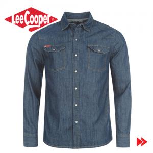 colecție nouă calitate design rafinat Camasa jeans barbateasca Lee Cooper C Class Denim Shirt42. Outlet ...