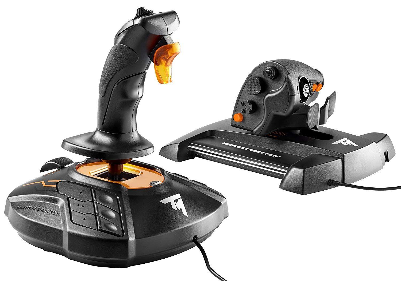 Thrustmaster T16000m Fcs Hotas Only 56 49 Best Pc Games Flight Simulator Joystick