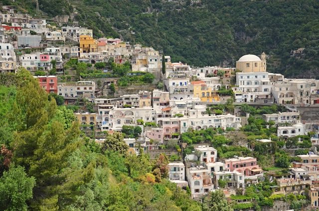 #Positano - a lot more crowded than we saw it many years ago on our honeymoon, #Italy
