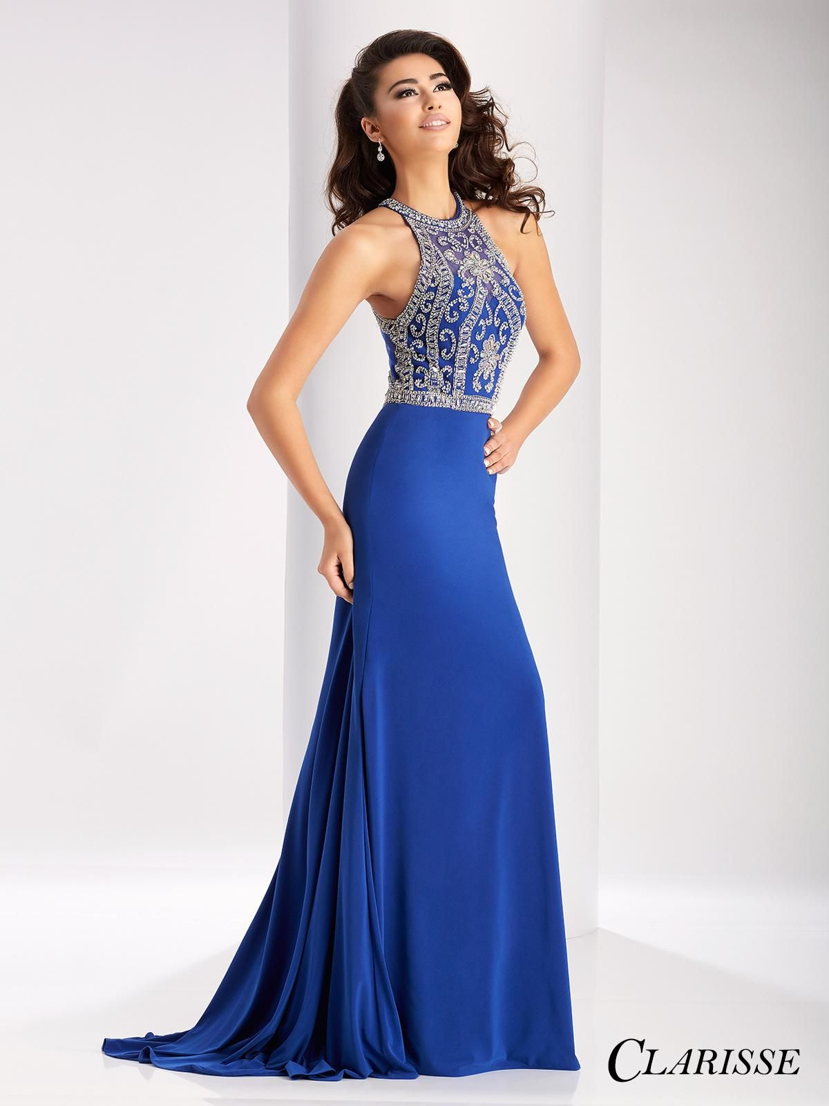 Long Tight Fitted Prom Dresses