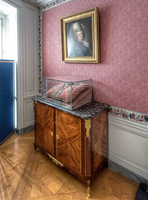 Rooms: Appartements Privés De Marie-Antoinette, Palace Of