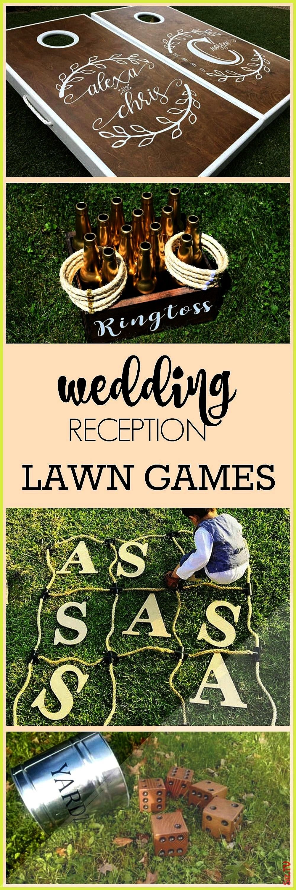 an outdoor wedding family reunion family game night outdoor game night or outdoor party What a great way to entertain your wedding gu Perfect for an outdoor wedding famil...