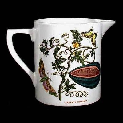 Portmeirion Botanic Garden Pitcher WATER MELON And DOG ROSE -- $137.00