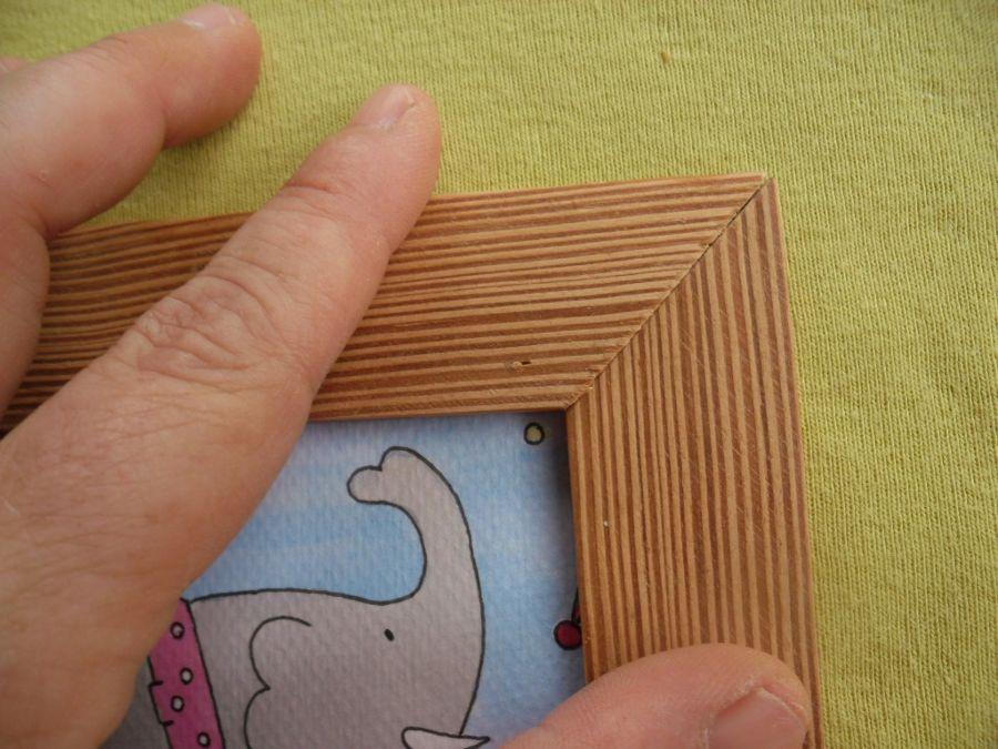 Marco cartón corrugado | Portaretratos | Pinterest