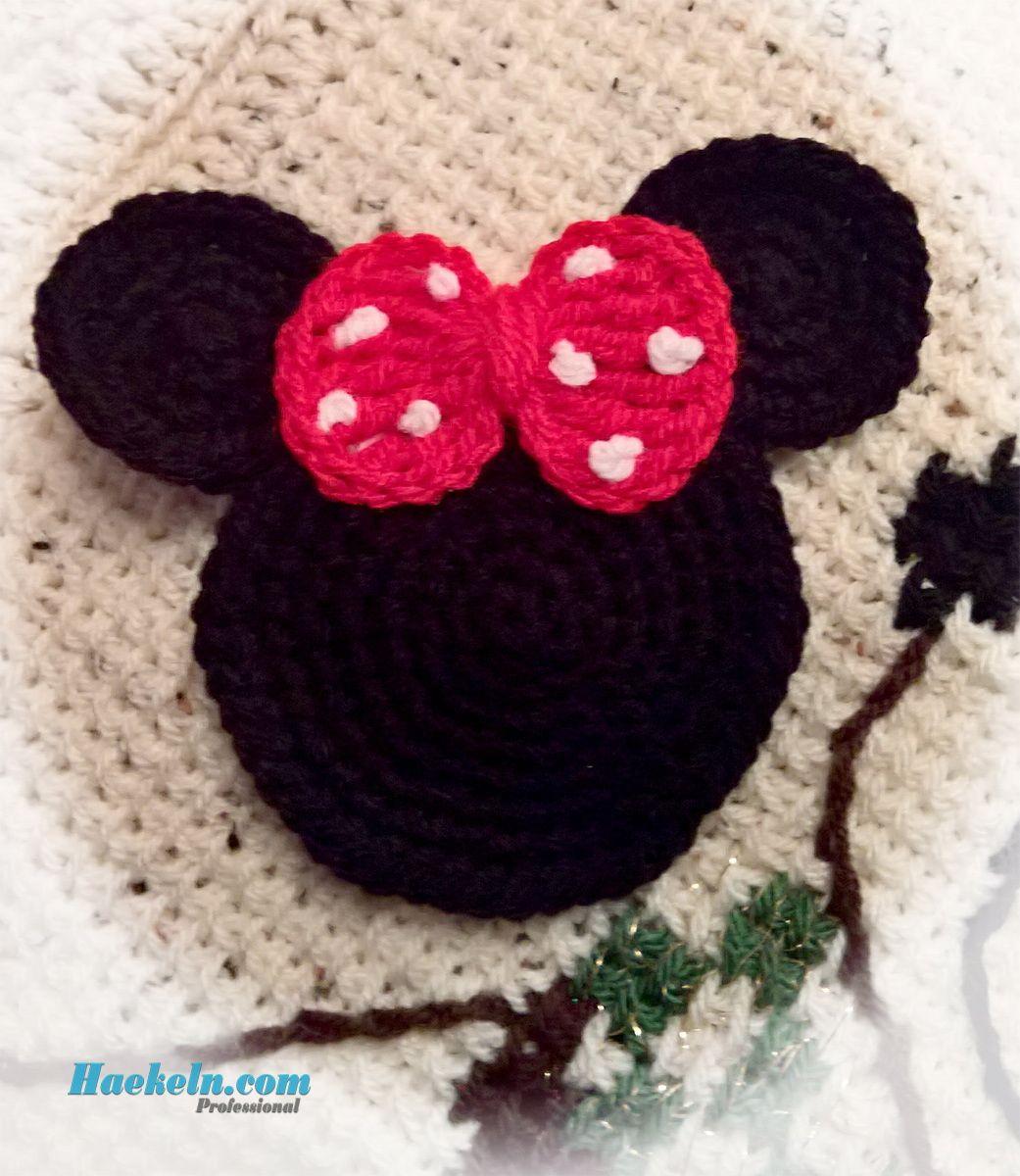Häkeln zu Weihnachten • Pünktchen Maus . Kostenlose Häkelanleitung ...