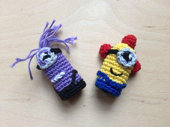 Set Evil Minion Finger Puppet, Fireman Minion Finger Puppet ...