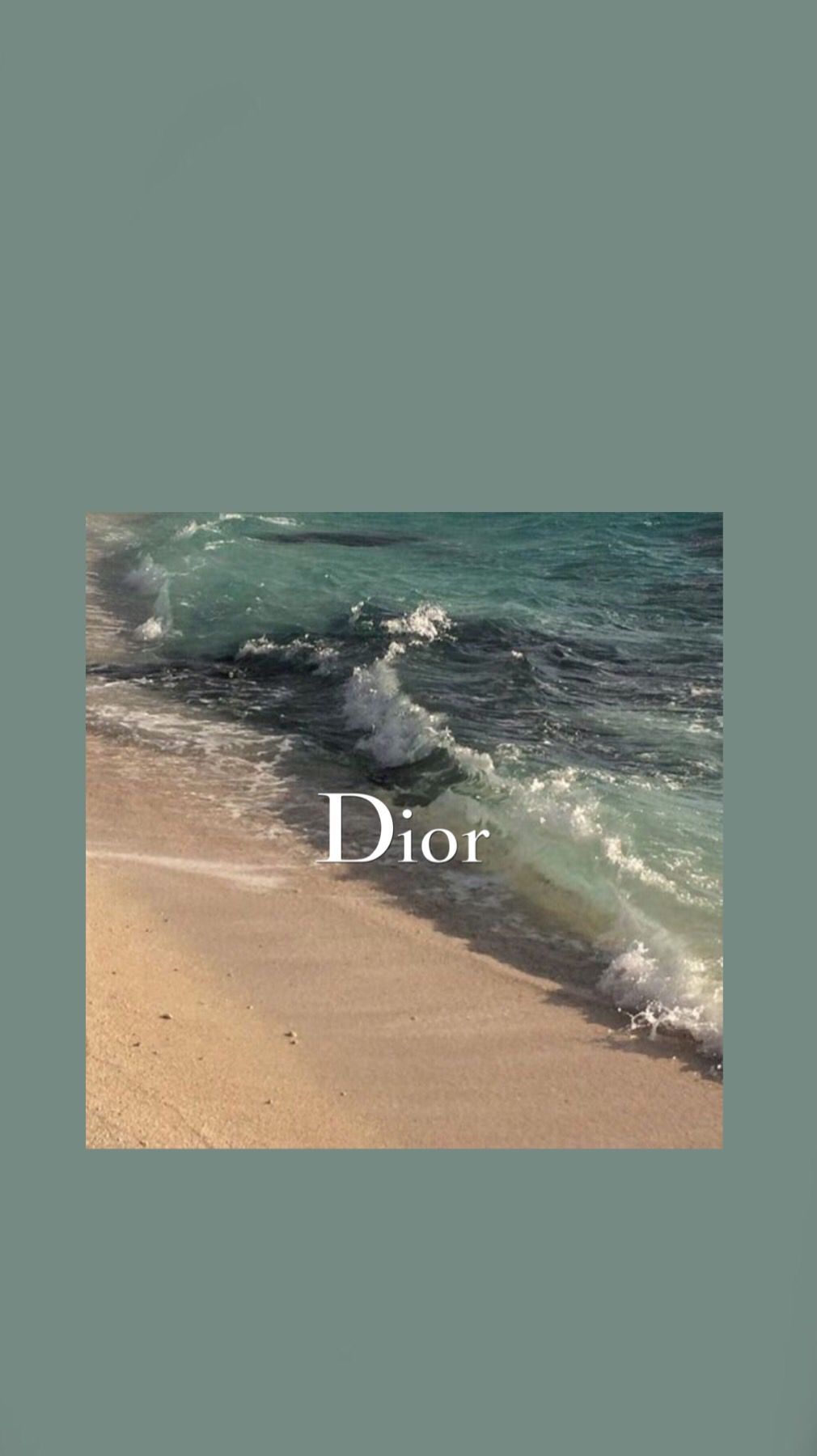 Beach Dior Wallpaper Lockscreen Fashion Aesthetic Pastel Wallpaper Aesthetic Wallpapers Aesthetic Iphone Wallpaper