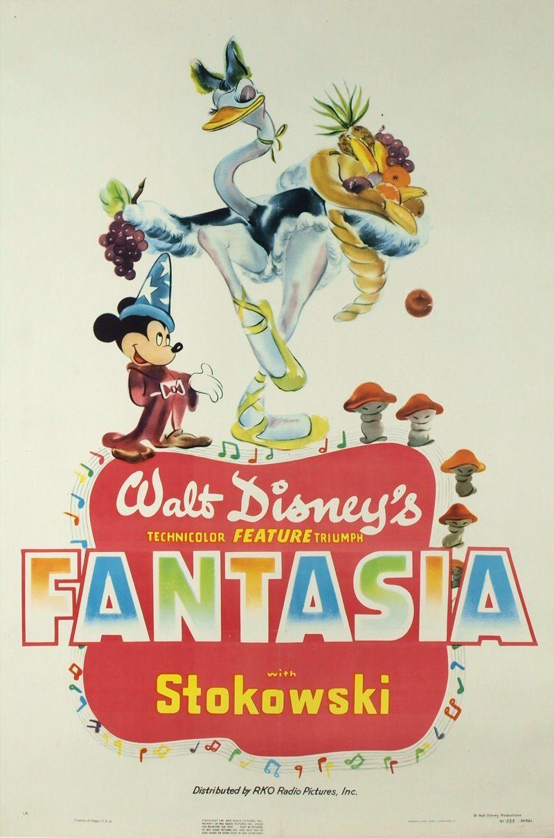 Poster design 1940 - Fantasia Poster