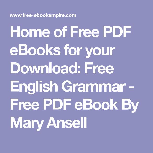 MARY ANSELL ENGLISH GRAMMAR EPUB DOWNLOAD