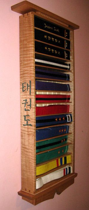 Tae Kwon Do Belt Display Taekwondo Belt Display Belt Display Martial Arts Belt Display
