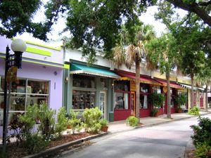 Downtown Historic Cocoa Village