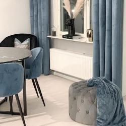 Pouf velvet gray round Ø60 cm - Abbie#abbie #gray #Ø60 #pouf #velvet