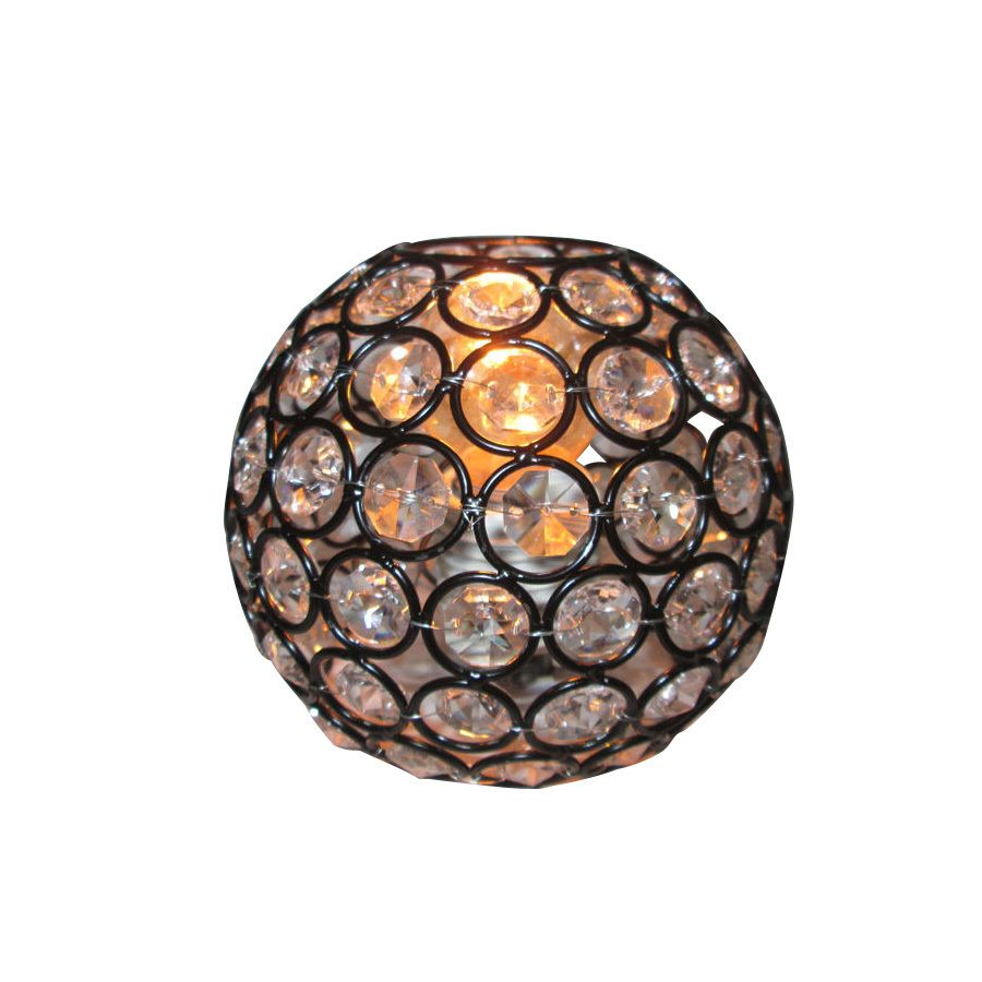 Style selections ladura 4 in h 4875 in w bronze crystal crystal style selections ladura h w bronze crystal globe vanity light shade at lowes this vanity shade from the ladura collection instantly adds a feeling of arubaitofo Gallery