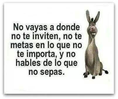 No vayas...