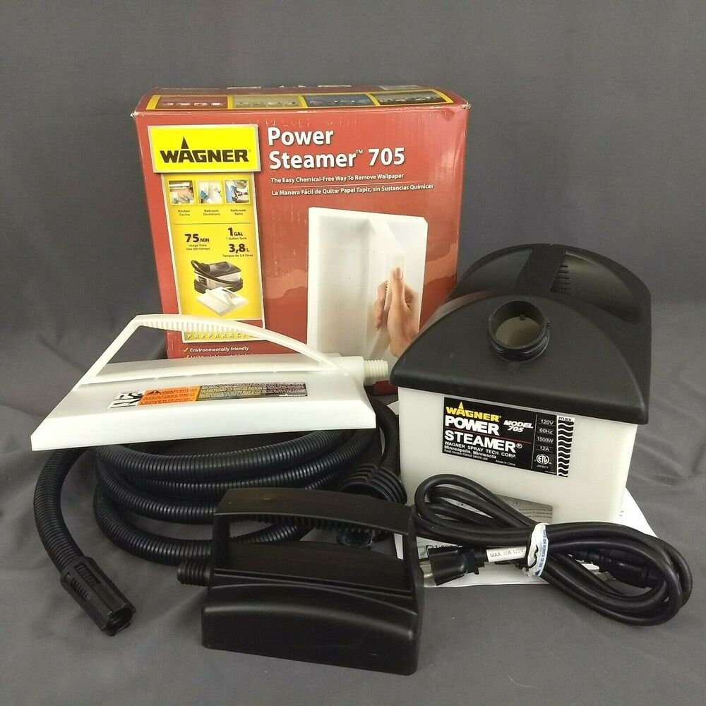 Wagner 705 Power Steamer Wallpaper Removal Includes 2 Sizes