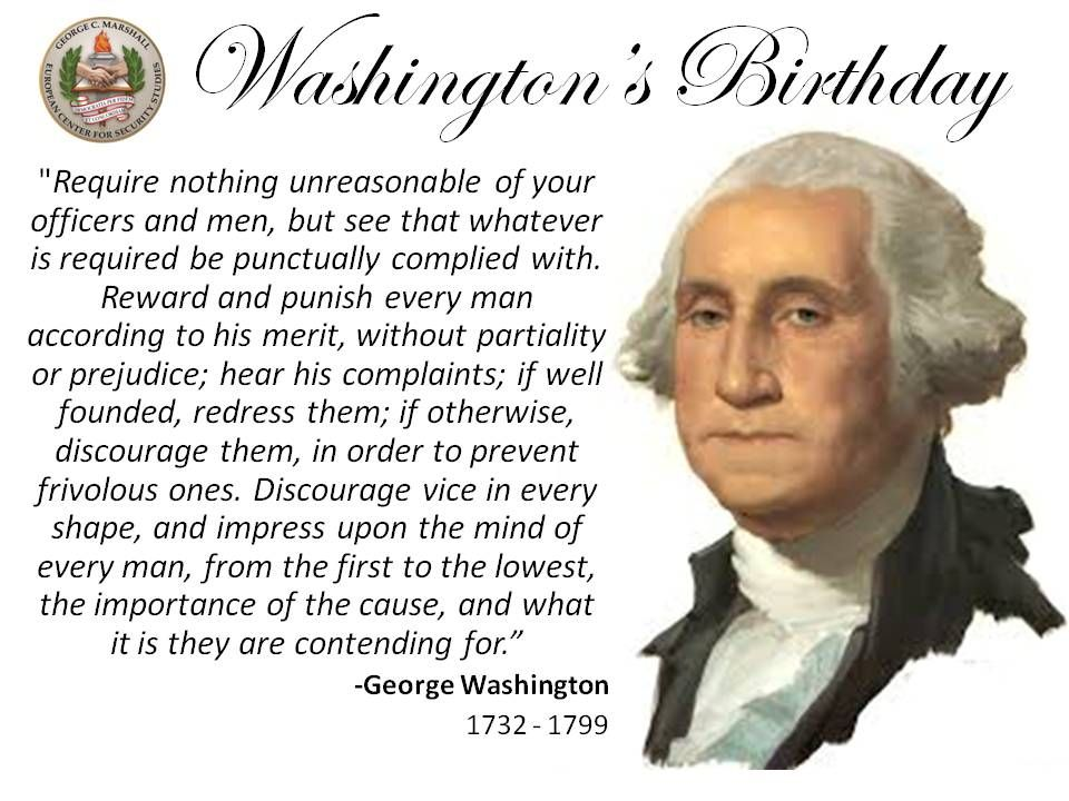 Leadership Quote From The Us 1st President George Washington 3