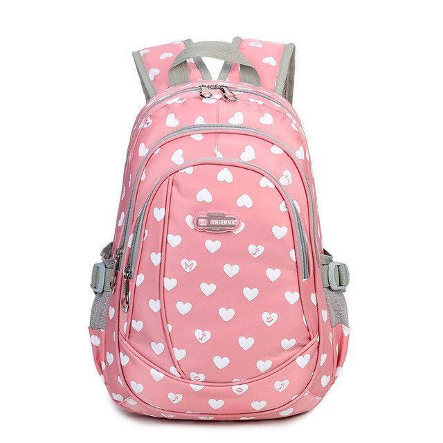 New School Bags for Girls Brand Women Backpack Cheap Shoulder Bag Wholesale  Kids Backpacks Fashion e7b32f6e07393