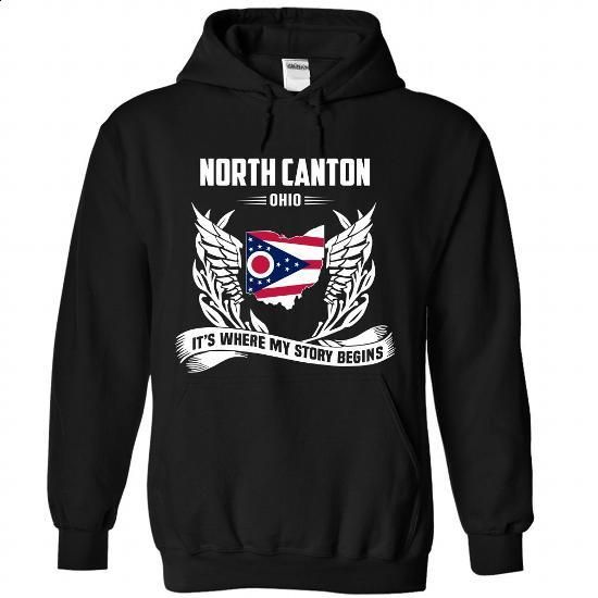 North Canton - #tee verpackung #sweater nails. ORDER NOW => https://www.sunfrog.com/LifeStyle/North-Canton-9246-Black-Hoodie.html?68278