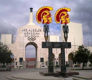 Usc Starts Running The Coliseum And Sports Arena On Monday Bolivia Travel Los Angeles Belize Travel