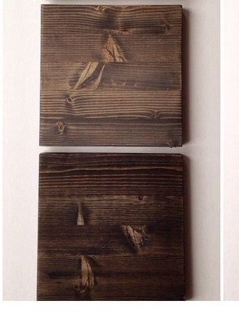 Knotty Alder Cabinet Door: Top: Minwax Kona With Classic Grey Bottom:  Minwax Kona
