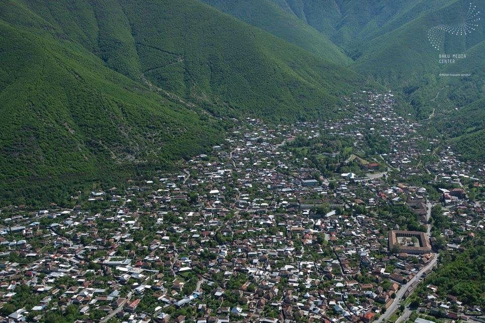 Azerbaijan Sheki Natural Landmarks City Outdoor