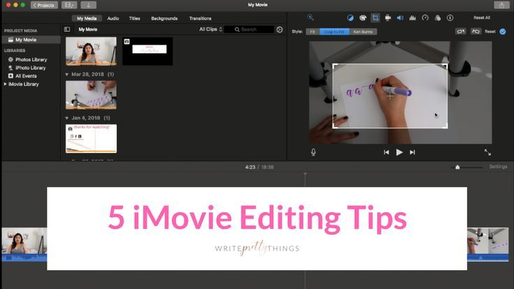 5 Easy Imovie Editing Tips Youtube Editing Creative