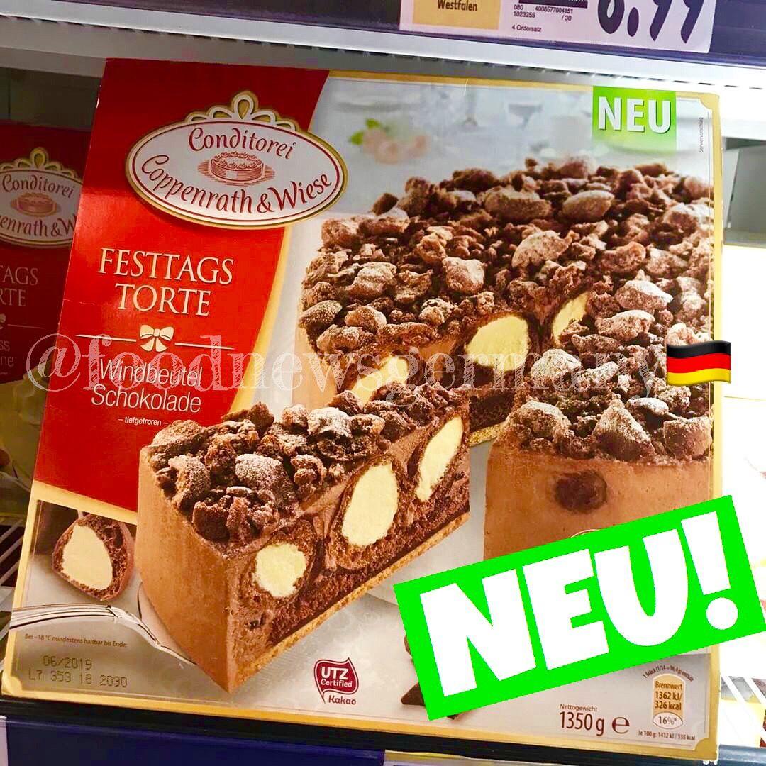 Coppenrath Wiese Festtagstorte Windbeutel Schokolade Produktneuheit Lebensmittelneuheiten Neu Foodn Lebensmittel Kinder Schokolade Festtagstorten