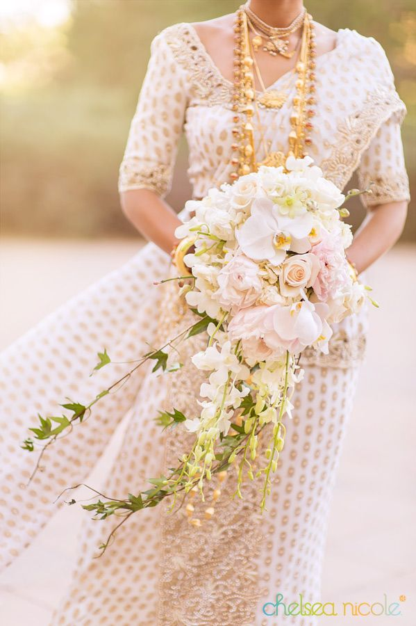Love The Long Chained Jewelry The Glorious White Saree And The