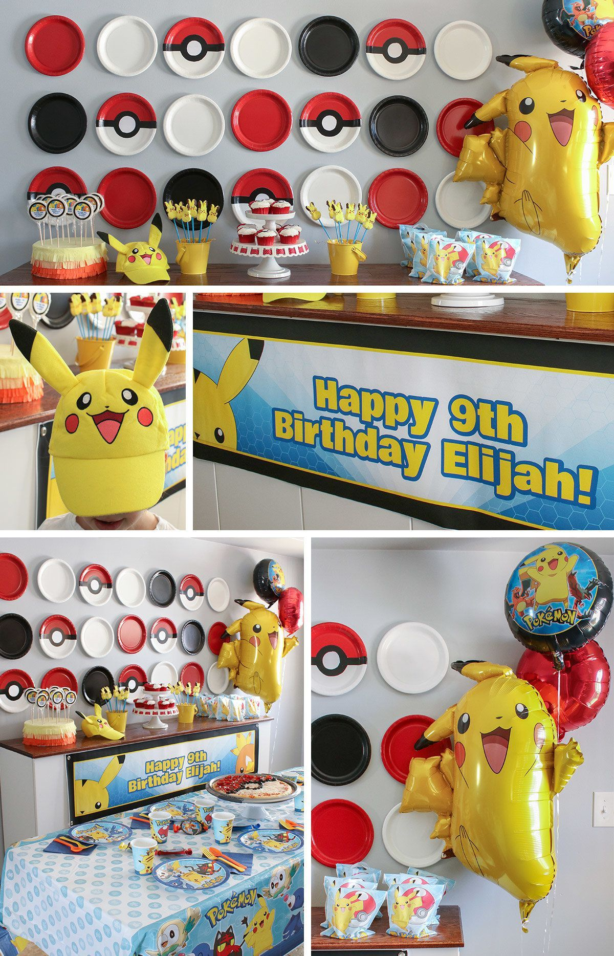 Pokemon Party Ideas - Decorations  Pokemon birthday party
