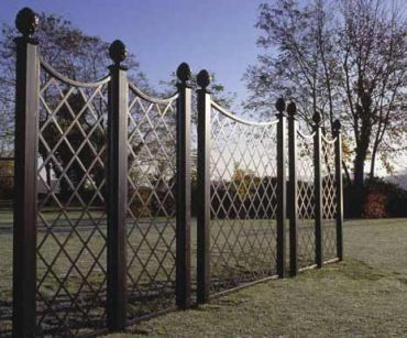 Modular Trelliswork Fences Www Classic Garden Elements Co Uk
