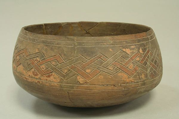 Incised bowl with geometric pattern | Paracas | The Met