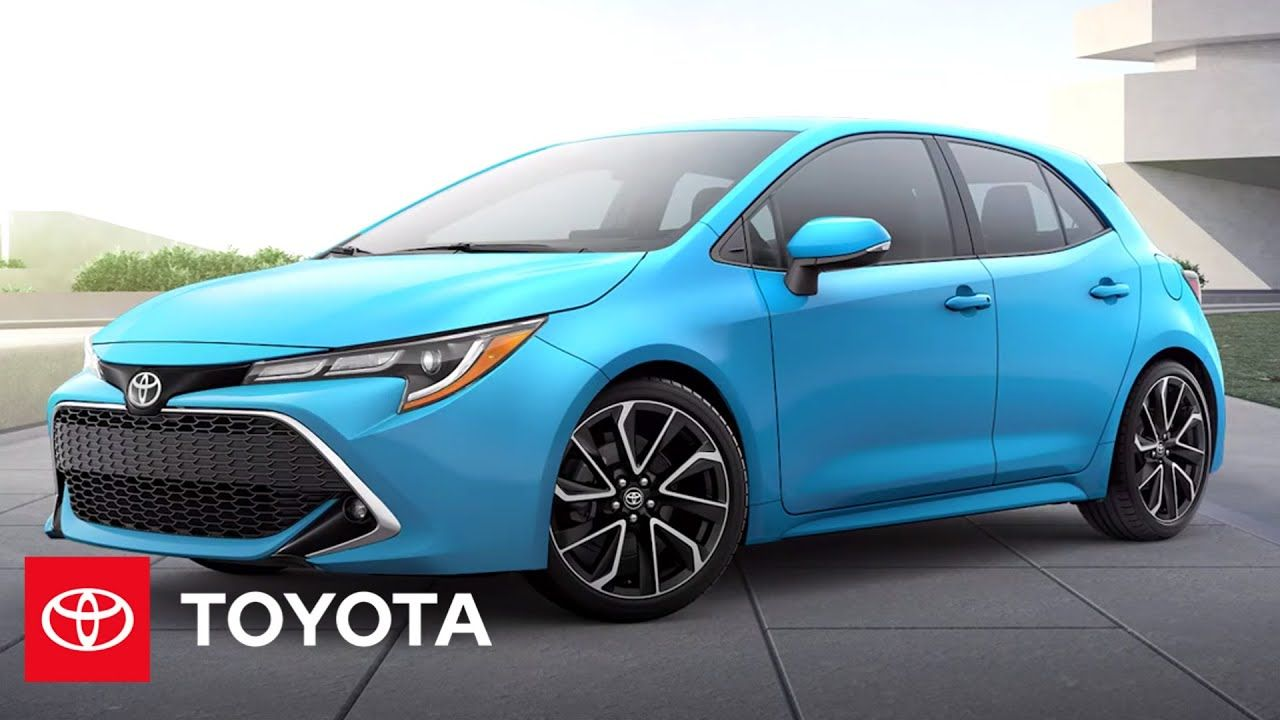 With The 2021 Corolla Hatchback Fun Is The Name Of The Game Get Into All The Features And Technolog Corolla Hatchback Toyota Corolla Hatchback Toyota Corolla