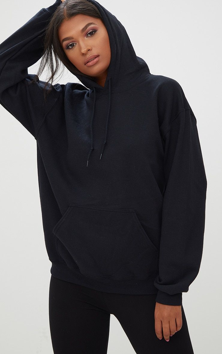 d91b4f7ad42f10 Black Ultimate Oversized Hoodie.