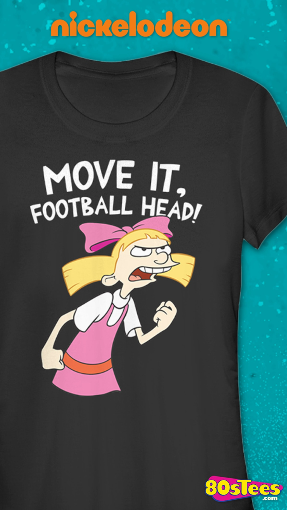 On the hit Nickelodeon animated series Hey Arnold!, fourth