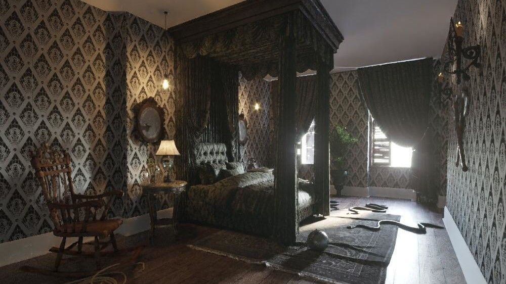 You Can Spend Halloween Night in a Replica of the Addams ...