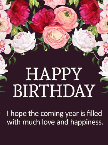Happy Spring Birthday Card Birthday Greeting Cards By Davia Birthday Wishes Flowers Happy Birthday Wishes Cards Free Happy Birthday Cards