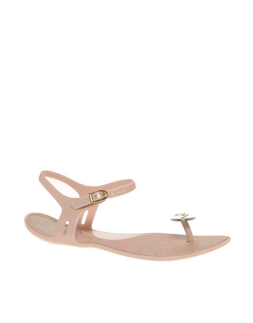 b8d5179ad6700e Vivienne Westwood for Melissa Button Flat Sandals £70.00 Button flat sandals  by Vivienne Westwood for