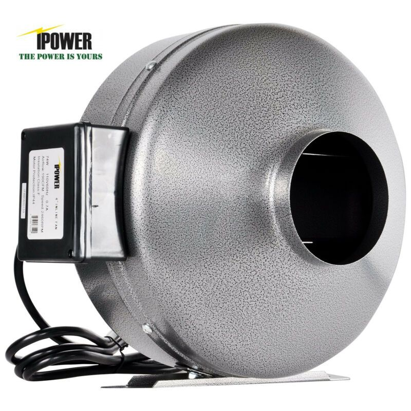 ipower inline duct ventilation fan hvac